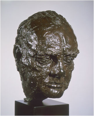 Winston Churchill Bust
