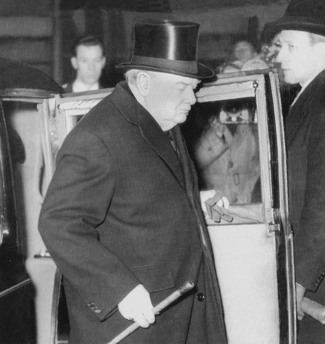 Winston Churchill Sleepwalking